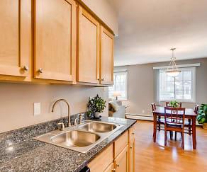 Kitchen, Granite Ridge Apartments