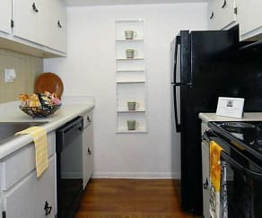 Kitchen, Regency Apartments
