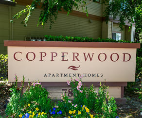 Community Signage, Copperwood Apartments