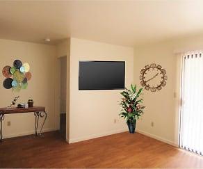Living Room, Willow Ridge Apartments