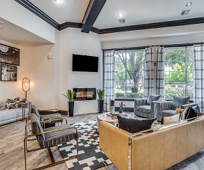 Living Room, Northern Cross Apartments