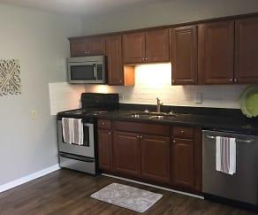Kitchen, 2200 Midtown Apartment Homes