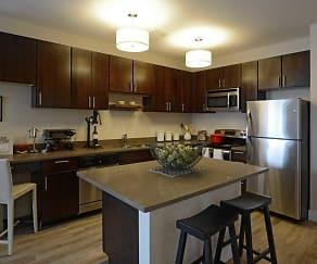 Kitchen, Green Leaf RockVue