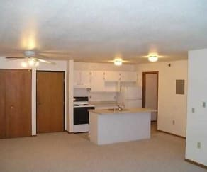 Kitchen, Parkwater Apartments