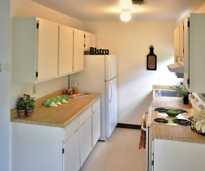 Kitchen, Water Gap Village Townhomes