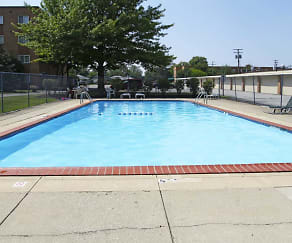 Pool, Mayland Towers Apartments