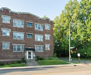 Building, Irvington Arms