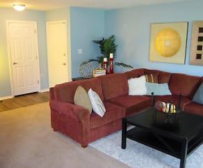 Living Room, Lions Creek At Morse Lake