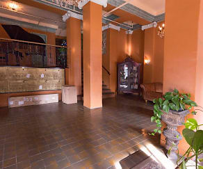Foyer, Entryway, Gramercy Towers