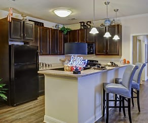 Kitchen, Riverstone Apartments