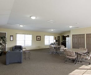 Clubhouse, Carriage House Apartments