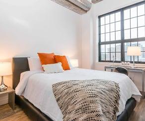 Bedroom, Norden Lofts