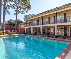 Pool, Jefferson Shadows Apartments