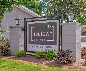 Community Signage, Midtown Square