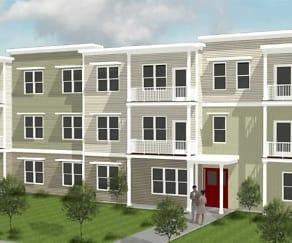 Building, Net Zero Village Apartments