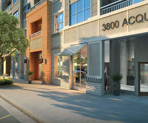 Rendering, 3800 Acqua Apartments