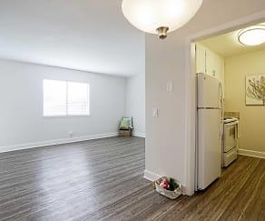 Living Room, The Ashton At Harding