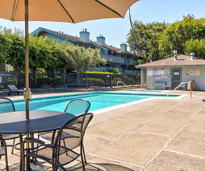 Pool, Remington Grove Apartments