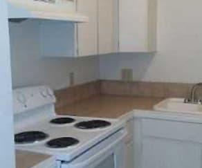 Kitchen, The Vines Apartments