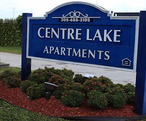 Community Signage, Centre Lake