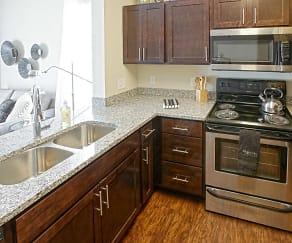 Kitchen, Overture Flats
