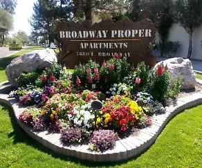 Landscaping, Broadway Proper
