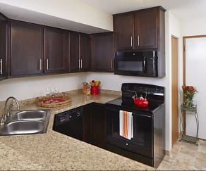 Kitchen, Bass Lake Hills Townhomes