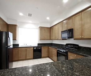 Kitchen, Magnolia Court Townhomes