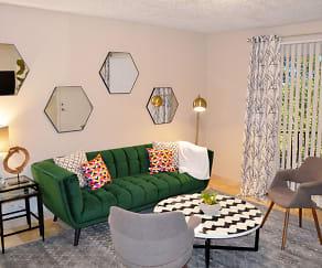 Living Room, Clover on Park Lane