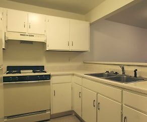 Kitchen, LaFonda Apartments
