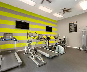 Fitness Weight Room, Saybrooke Apartments