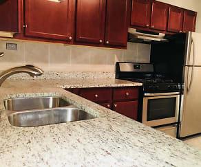 Kitchen, THE MAYNARD AT 3501 N Pine Grove