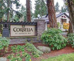 Community Signage, Corbella at Juanita Bay