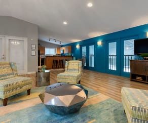 Clubhouse, The Parke at Trinity Apartment Homes