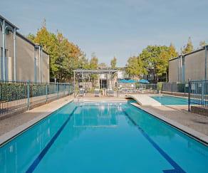Pool, Pont Alba