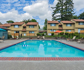Pool, Forest Ridge Apartment Homes
