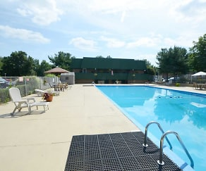 Pool, Timber Creek Apartments
