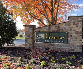 Community Signage, The Meadows At Elk Creek