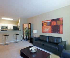 Living Room, The Point at Fort Lee