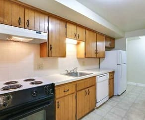 Kitchen, Sheridan Drive Apartments