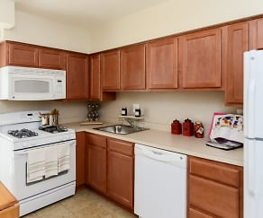 Kitchen, Willowbrook Apartments