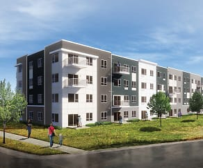 Rendering, Technology Park Apartments