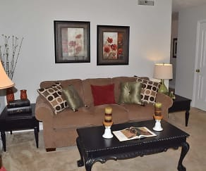 Living Room, Hamlet Square Townhomes