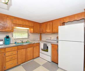 Kitchen, 1535 Rosedale Lane, Unit 2