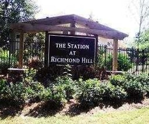 Building, The Station at Richmond Hill Apartments