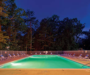 Pool, Parkway Apartments
