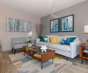 Living Room, Madison Flats