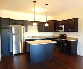 Kitchen, Holly Tree Apartments