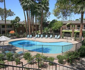 Pool, Arcadia Villa Apartments