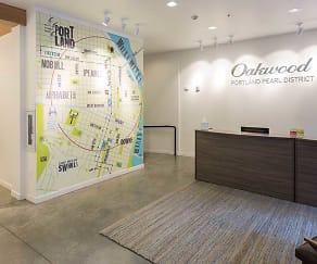 Leasing Office, Oakwood Portland Pearl District